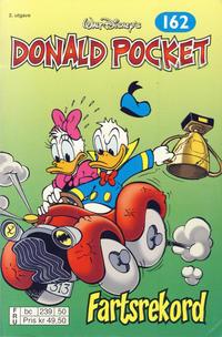 Cover Thumbnail for Donald Pocket (Hjemmet / Egmont, 1968 series) #162 - Fartsrekord [2. utgave bc 239 50]