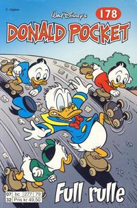 Cover Thumbnail for Donald Pocket (Hjemmet / Egmont, 1968 series) #178 - Full rulle [2. utgave bc 277 79]