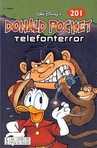 Cover Thumbnail for Donald Pocket (Hjemmet / Egmont, 1968 series) #201 - Telefonterror [2. utgave bc 239 60]