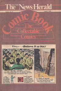 Cover Thumbnail for The News Herald Comic Book the Collectable Comics (Lake County News Herald, 1978 series) #v3#33