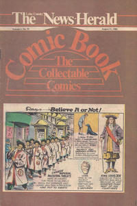 Cover Thumbnail for The News Herald Comic Book the Collectable Comics (Lake County News Herald, 1978 series) #v3#35