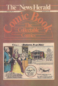 Cover Thumbnail for The News Herald Comic Book the Collectable Comics (Lake County News Herald, 1978 series) #v3#37