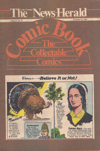 Cover Thumbnail for The News Herald Comic Book the Collectable Comics (Lake County News Herald, 1978 series) #v3#47