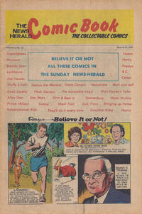 Cover Thumbnail for The News Herald Comic Book the Collectable Comics (Lake County News Herald, 1978 series) #v2#12