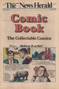 Cover Thumbnail for The News Herald Comic Book the Collectable Comics (Lake County News Herald, 1978 series) #v2#17