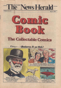 Cover Thumbnail for The News Herald Comic Book the Collectable Comics (Lake County News Herald, 1978 series) #v2#19