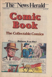 Cover Thumbnail for The News Herald Comic Book the Collectable Comics (Lake County News Herald, 1978 series) #v2#20
