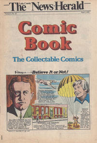 Cover Thumbnail for The News Herald Comic Book the Collectable Comics (Lake County News Herald, 1978 series) #v2#22