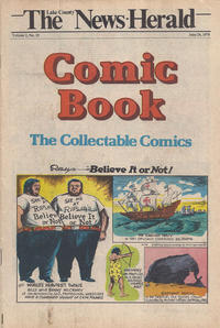 Cover Thumbnail for The News Herald Comic Book the Collectable Comics (Lake County News Herald, 1978 series) #v2#25