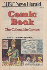 Cover Thumbnail for The News Herald Comic Book the Collectable Comics (Lake County News Herald, 1978 series) #v2#28