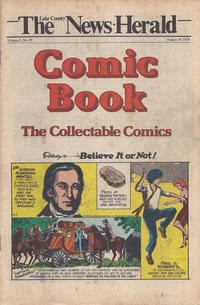 Cover Thumbnail for The News Herald Comic Book the Collectable Comics (Lake County News Herald, 1978 series) #v2#33