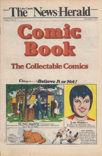 Cover Thumbnail for The News Herald Comic Book the Collectable Comics (Lake County News Herald, 1978 series) #v2#35