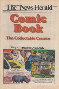 Cover Thumbnail for The News Herald Comic Book the Collectable Comics (Lake County News Herald, 1978 series) #v2#36