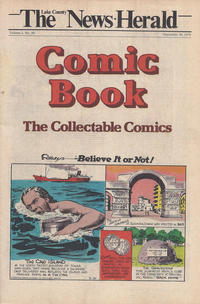 Cover Thumbnail for The News Herald Comic Book the Collectable Comics (Lake County News Herald, 1978 series) #v2#39