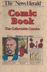 Cover Thumbnail for The News Herald Comic Book the Collectable Comics (Lake County News Herald, 1978 series) #v2#40