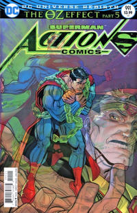 Cover Thumbnail for Action Comics (DC, 2011 series) #991 [Nick Bradshaw Lenticular Cover]