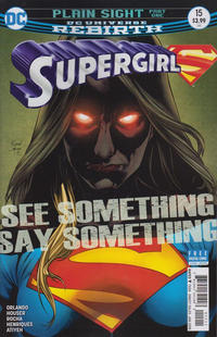 Cover Thumbnail for Supergirl (DC, 2016 series) #15