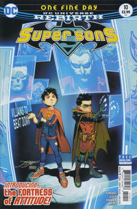 Cover Thumbnail for Super Sons (DC, 2017 series) #10