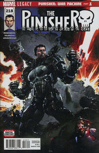Cover Thumbnail for The Punisher (Marvel, 2016 series) #218 [Clayton Crain Cover]