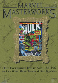Cover Thumbnail for Marvel Masterworks: The Incredible Hulk (Marvel, 2003 series) #11 (252) [Limited Variant Edition]