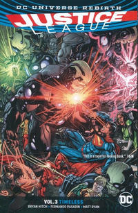 Cover Thumbnail for Justice League (DC, 2017 series) #3 - Timeless