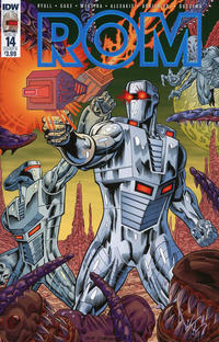 Cover Thumbnail for ROM (IDW, 2016 series) #14 [Cover B - Guy Dorian & Sal Buscema]