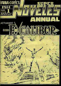 Cover Thumbnail for Super Noveles Annual (Parra Comics, 1988 series) #1