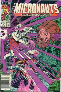 Cover Thumbnail for Micronauts (Marvel, 1984 series) #4 [Canadian]