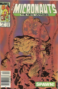 Cover Thumbnail for Micronauts (Marvel, 1984 series) #3 [Canadian]