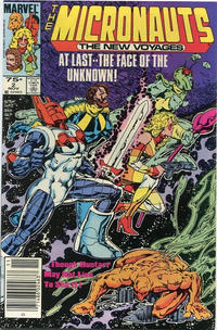 Cover Thumbnail for Micronauts (Marvel, 1984 series) #2 [Canadian]