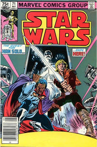 Cover Thumbnail for Star Wars (Marvel, 1977 series) #71 [Canadian]