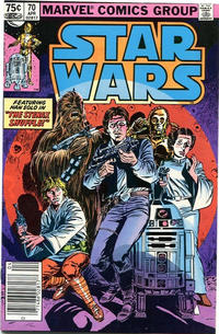 Cover Thumbnail for Star Wars (Marvel, 1977 series) #70 [Canadian]