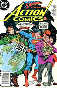Cover Thumbnail for Action Comics (DC, 1938 series) #573 [Canadian]
