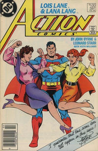 Cover for Action Comics (DC, 1938 series) #597 [Newsstand]