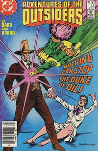 Cover Thumbnail for Adventures of the Outsiders (DC, 1986 series) #44 [Canadian]