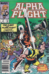 Cover Thumbnail for Alpha Flight (Marvel, 1983 series) #17 [Canadian]