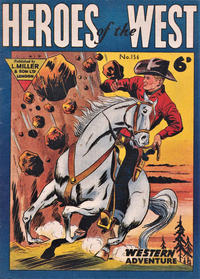 Cover Thumbnail for Heroes of the West (L. Miller & Son, 1959 series) #156