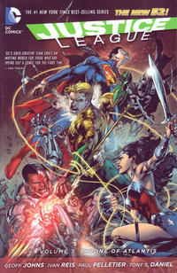 Cover Thumbnail for Justice League (DC, 2013 series) #3 - Throne of Atlantis