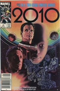 Cover for 2010 (Marvel, 1985 series) #2 [Direct]