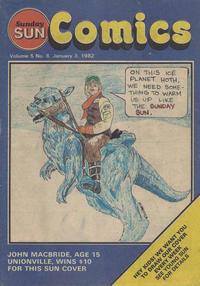 Cover Thumbnail for Sunday Sun Comics (Toronto Sun, 1977 series) #v5#8