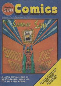 Cover Thumbnail for Sunday Sun Comics (Toronto Sun, 1977 series) #v5#1