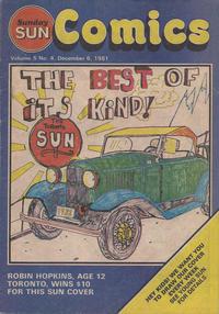 Cover Thumbnail for Sunday Sun Comics (Toronto Sun, 1977 series) #v5#4