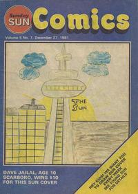 Cover Thumbnail for Sunday Sun Comics (Toronto Sun, 1977 series) #v5#7
