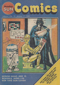 Cover Thumbnail for Sunday Sun Comics (Toronto Sun, 1977 series) #v5#10