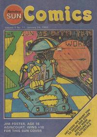 Cover Thumbnail for Sunday Sun Comics (Toronto Sun, 1977 series) #v5#11