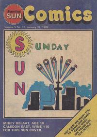Cover Thumbnail for Sunday Sun Comics (Toronto Sun, 1977 series) #v5#12