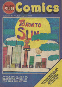 Cover Thumbnail for Sunday Sun Comics (Toronto Sun, 1977 series) #v5#14