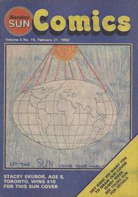 Cover Thumbnail for Sunday Sun Comics (Toronto Sun, 1977 series) #v5#15