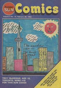 Cover Thumbnail for Sunday Sun Comics (Toronto Sun, 1977 series) #v5#16