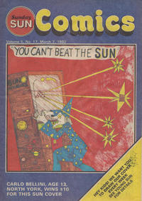 Cover Thumbnail for Sunday Sun Comics (Toronto Sun, 1977 series) #v5#17
